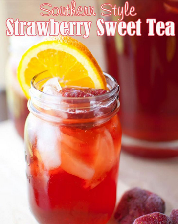 Southern Strawberry Tea