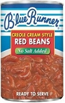 Blue Runner White Navy Beans- NO SALT ADDED 16 oz