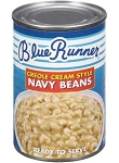 Blue Runner White Navy Beans- Original 16 oz