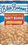 Blue Runner White Navy Beans- New Orleans Spicy 16 oz