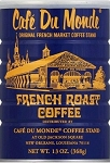 Cafe' Du Monde French Roast, 13oz Can