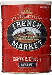 French Market Coffee & Chicory Dark Roast (City Roast), 12oz