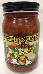 Frog Bone FIre Roasted Salsa, 16 oz.