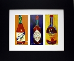 Hot Sauce Print by Chris Long 8.75x10.5