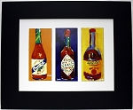 Hot Sauce Print by Chris Long 13.25x16