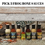 Pick A Pack-Frog Bone Sauces 3 Pack