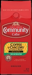 Community Coffee: Ground Coffee and Chicory Decaf 12oz