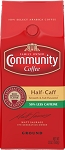 Community Coffee: Ground Half Caff 12oz