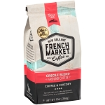 French Market Creole Blend Coffee & Chicory Dark Roast Red Bag 12 oz.