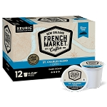 French Market Coffee St Charles Blend Dark Roast Single Serve Cups 12 Ct.