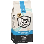 French Market Coffee St Charles Blend Dark Roast Blue Bag 12 oz.