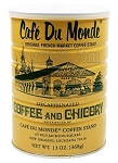 Cafe' Du Monde Gift Package: Decaf Coffee and Chicory and Beignet Mix