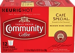 Community Coffee: K-Cups Cafe' Special