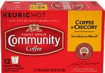 Community Coffee: K-Cup Coffee and Chicory