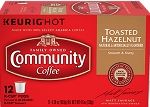 Community Coffee: K-Cup Toasted Hazelnut