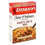 Zatarain's Dirty Rice Mix- Original- FAMILY SIZE 12oz