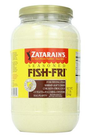 Zatarain 39 s fish fry for Zatarain s fish fri