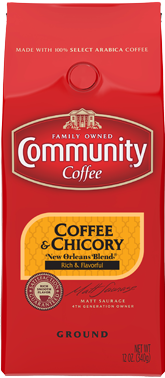 Community Coffee: Ground Coffee and Chicory 12oz