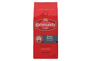 Community Coffee: Ground Dark Roast Signature Blend- 12oz