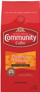 Community Coffee: Ground Pumpkin Praline 12oz
