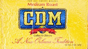 CDM Medium Roast Coffee and Chicory, 13oz