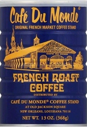 Cafe' Du Monde Gift Package: French Roast Coffee and Beignet Mix