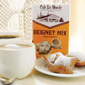 Cafe' Du Monde Gift Package: Coffee and Chicory and Beignet Mix