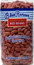Blue Runner Red Beans - 1lbs