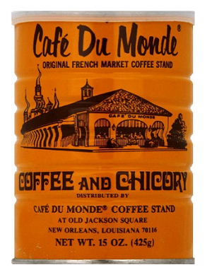 Cafe' Du Monde Coffee & Chicory, 15 oz.