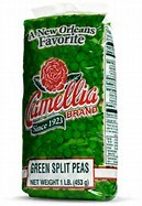 Camellia Green Split Pea 1lbs Bag