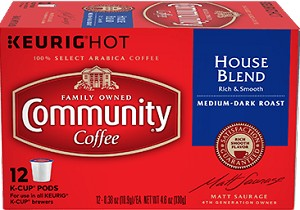 Community Coffee: K-Cup House Blend