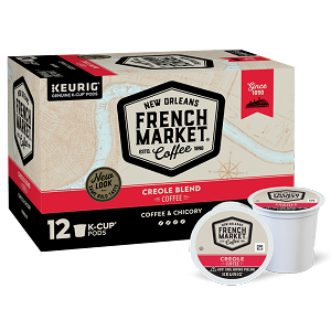 French Market Coffee & Chicory Single Serve Cups, 12 ct.