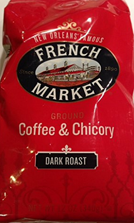 French Market Coffee & Chicory Dark Roast Bag, 12 oz