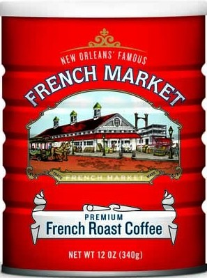 French Market French Roast Can, 12oz