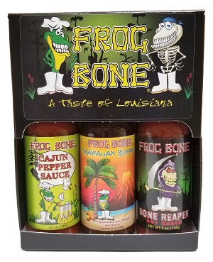 Frog Bone Hot Sauce 3-Pack