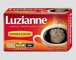 Luzianne Medium- Dark Roast, Red Label, 13oz Bag