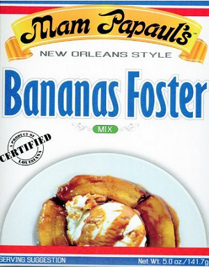 mam papaul's bananas foster mix