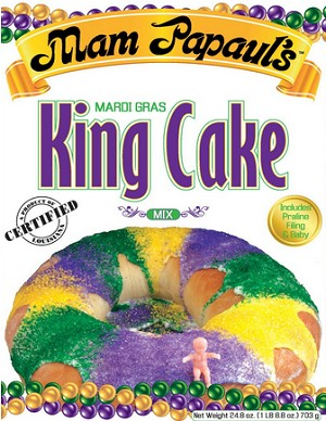 mam papaul's famous new orleans mardi gras cake mix