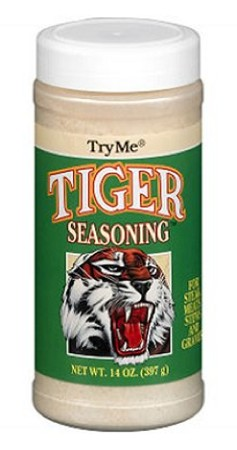 Try Me Tiger Seasoning, 14 oz.