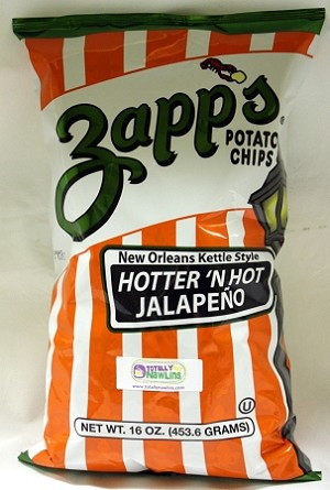 Zapp's Hotter n' Hot Jalapeno 5oz Bag