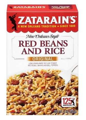Zatarain's red beans and rice mix