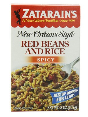 Zatarain's Red Beans and Rice- Spicy
